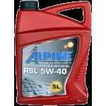 Alpine RSL 5W-40, 5L,...