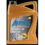 Alpine 0W-20 Longlife IV,...