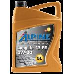 Alpine 0W-30 Longlife 12FE,...