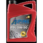 Alpine RSL 5W-50, 5L,...