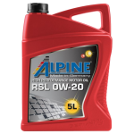 Alpine 0W-20 RSL, 5L,...